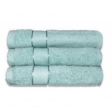 Lot de 3 maxi draps de bain 100×150 cm 380 gr/m2 céladon