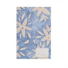 Journal imprimé pétales de fleurs