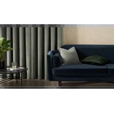 Julius, paire de rideaux à œillets 135 x 260 cm, velours vert clair