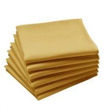 Lot de 6 serviettes COUCKE, La Lilloise, unies