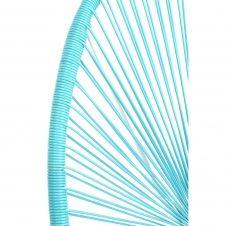 Fauteuil de jardin Acapulco bleu Kare Design