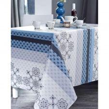 Nappe en coton enduit PVC encre 160×350 cm