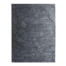 Tapis texturé vintage bleu cendré 160×230