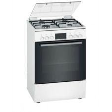 Cuisinière gaz BOSCH HXN39AD21 4 foyers Blanc