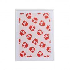 Affiche A3 imprimée petits crabes 30×40