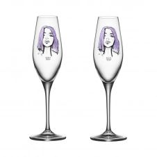 Verre à champagne All about you Lot de 2 Forever Mine