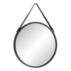 Miroir rond D.50 cm RONDY Noir