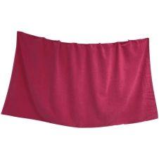 Drap de plage et fouta en 100% coton rose 90×160