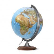 ATLANTIS 30 – Globe terrestre, politique, lumineux, textes en français