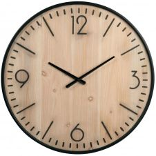 Horloge bicolore gravée D60