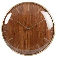 Horloge gravée bicolore D43