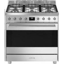 Piano de cuisson gaz Smeg C9GMX9-1