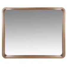 Miroir en paulownia marron 78×63