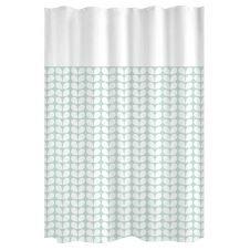 Rideau de douche tendance polyester aqua x